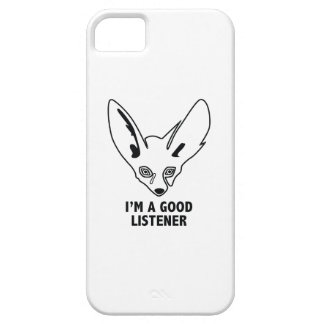 I'm A Good Listener Barely There iPhone 5 Case