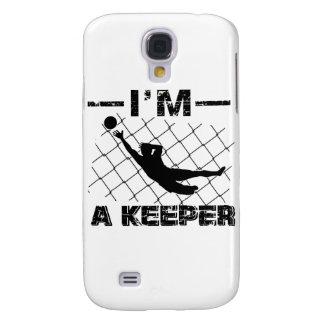 I'm a Keeper – Soccer Goalkeeper designs Galaxy S4 Cover