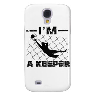I'm a Keeper – Soccer Goalkeeper designs Samsung Galaxy S4 Case
