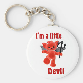 I`m a little devil key ring