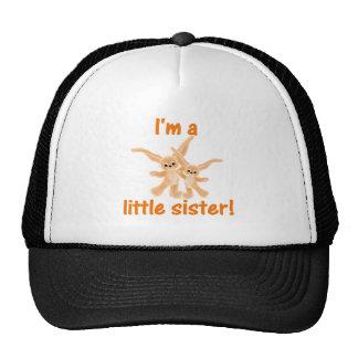I m a little sister orange bunnies hats