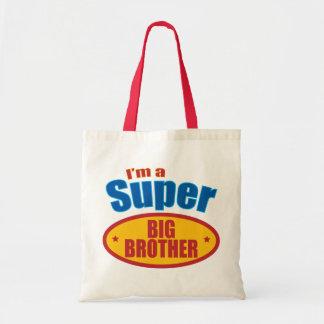 I m a Super Big Brother Canvas Bags