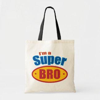 I m a Super Bro Super Hero Brother Tote Bag