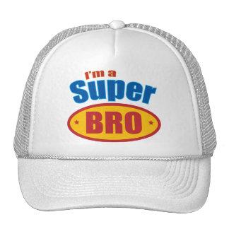 I m a Super Bro Super Hero Brother Mesh Hat