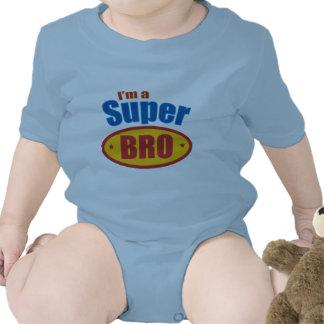 I m a Super Bro Super Hero Brother Rompers