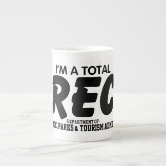 I'm A Total Rec – Bone China Mug