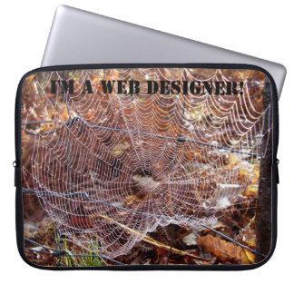 I'm a WEB designer! Laptop Sleeve