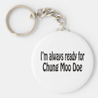 I m always ready for Chung Moo Doe Keychain
