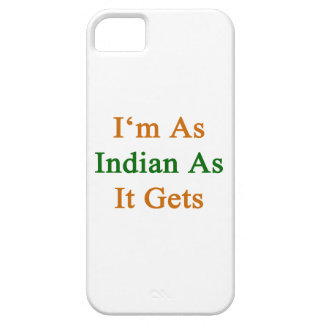 I m As Indian As It Gets iPhone 5 Cover