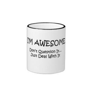 I m Awesome Coffee Mug