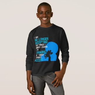 I'm Changing Things Boy's Dark Long Sleeve T-Shirt