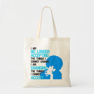 I'm Changing Things Tote Bag