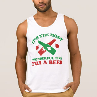 I'm Dreaming Of A Drunk Christmas Tank