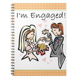 I m Engaged Notebook