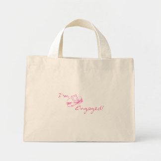 I m Engaged Pink Tote Bag