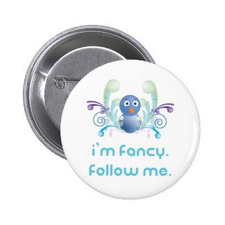 I m Fancy Follow Me Twitter Design Button