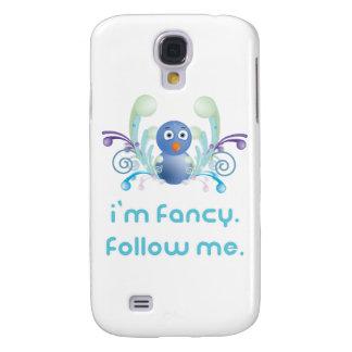 I m Fancy Follow Me Twitter Design Samsung Galaxy S4 Case