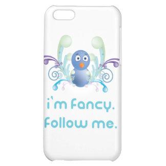 I m Fancy Follow Me Twitter Design Case For iPhone 5C