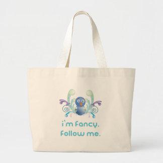 I m Fancy Follow Me Twitter Design Tote Bag