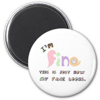 I m fine magnet