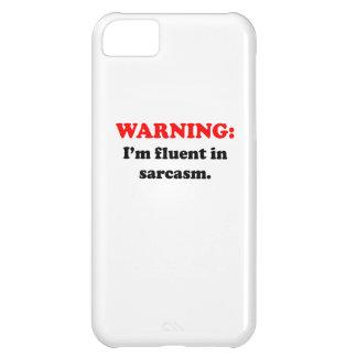 I m Fluent In Sarcasm iPhone 5C Case