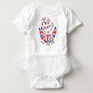 I,m from brexitland baby bodysuit