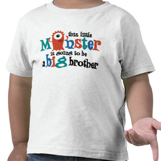I m going to be a big brother Monster T Shirts