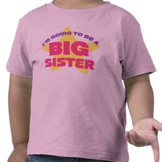 I m Going To Be A Big Sister Tshirts