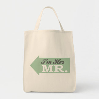 I m Her Mr Green Arrow Bags
