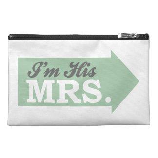 I m His Mrs Green Arrow Travel Accessory Bags