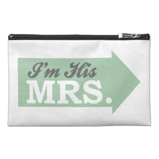 I m His Mrs Green Arrow Travel Accessory Bags