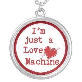 I m Just a Love Machine Text Design Jewelry