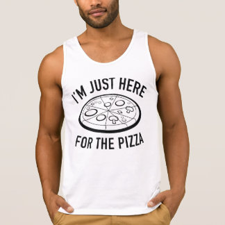 I'm Just Here For The Pizza Singlet