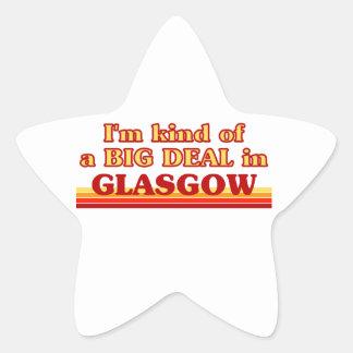 I´m kind of a big deal in Glasgow Star Sticker