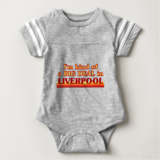 I´m kind of a big deal in Liverpool Baby Bodysuit