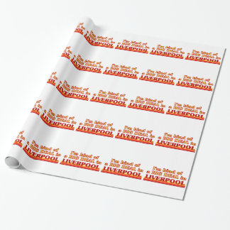 I´m kind of a big deal in Liverpool Wrapping Paper