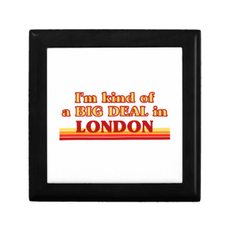 I´m kind of a big deal in London Gift Box