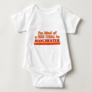 I´m kind of a big deal in Manchester Baby Bodysuit