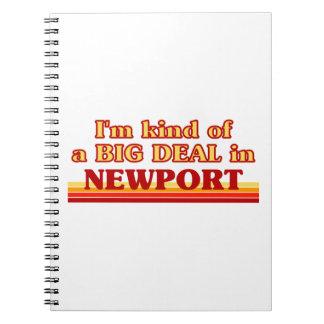 I´m kind of a big deal in Newport Notebook