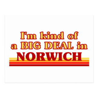 I´m kind of a big deal in Norwich Postcard