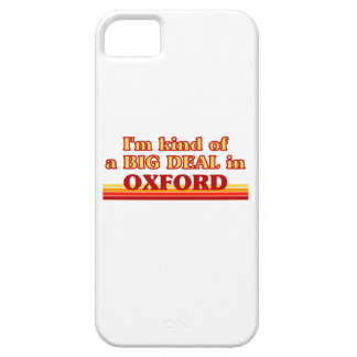 I´m kind of a big deal in Oxford Barely There iPhone 5 Case