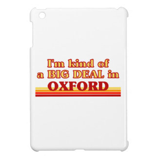 I´m kind of a big deal in Oxford iPad Mini Cover