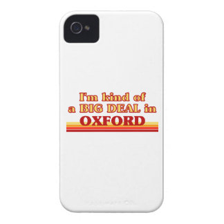 I´m kind of a big deal in Oxford iPhone 4 Case-Mate Cases