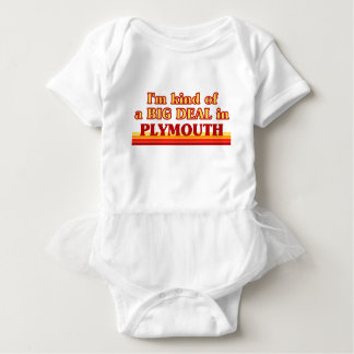 I´m kind of a big deal in Plymouth Baby Bodysuit