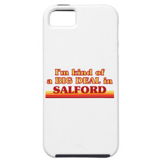 I´m kind of a big deal in Salford Tough iPhone 5 Case