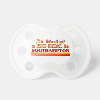 I´m kind of a big deal in Southampton Dummy