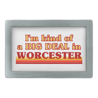 I´m kind of a big deal in Worcester Rectangular Belt Buckles