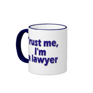 I`m Lawyer Ringer Coffee Mug