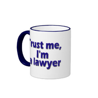 I`m Lawyer Ringer Mug