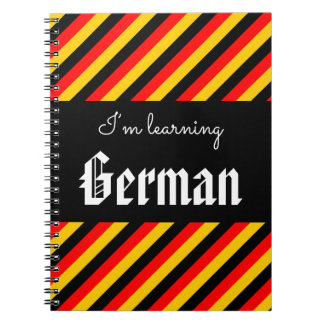 """I'm learning German"" Notebook"